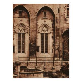 Avignon Pope's Palace replica postcard 1930