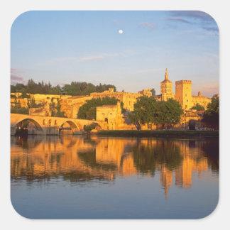 Avignon, Vaucluse, Provence, France, Rhone Square Sticker