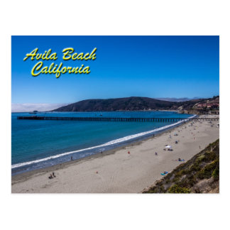 Avila Beach, California Postcard