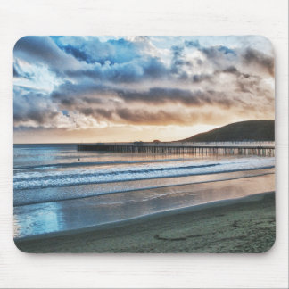 Avila Beach Pier at Sunset Mouse Pad