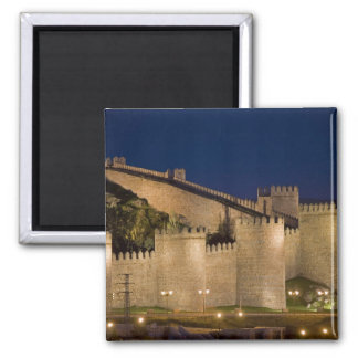 Avila, Castile and Leon, Spain 2 Inch Square Magnet