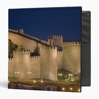Avila, Castile and Leon, Spain Vinyl Binders