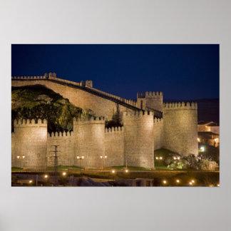 Ávila Castile y León España Impresiones