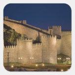 Ávila, Castile y León, España Pegatina Cuadrada