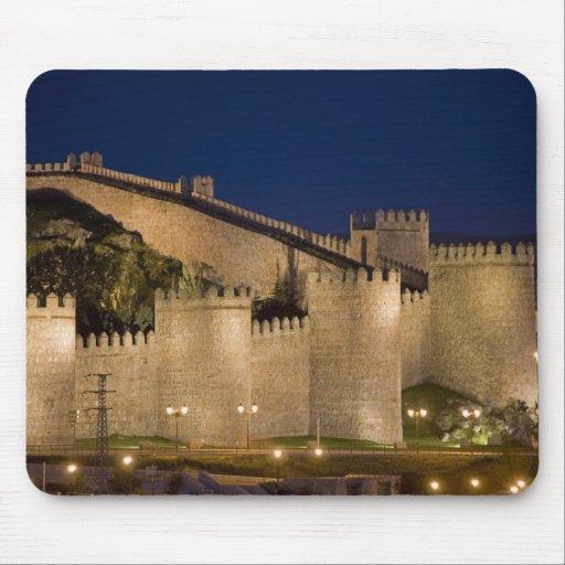 Ávila, Castile y León, España Alfombrillas De Raton