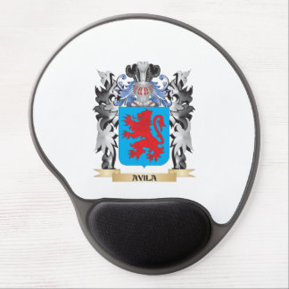 Avila Coat of Arms - Family Crest Gel Mouse Pad