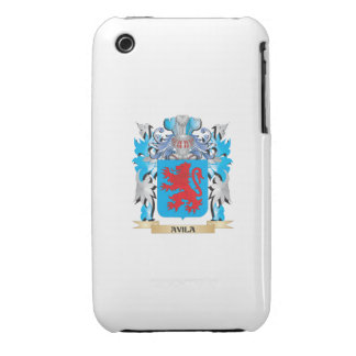Avila Coat Of Arms iPhone 3 Cases