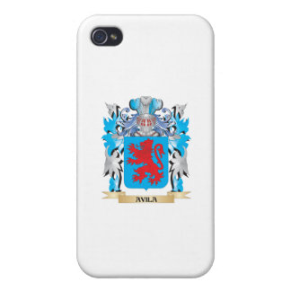 Avila Coat Of Arms iPhone 4 Covers