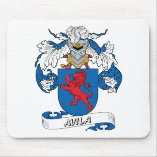 Avila Family Crest Mouse Pad