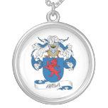 Avila Family Crest Personalized Necklace
