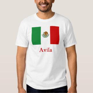 Avila Mexican Flag Tee Shirt