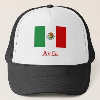 Avila Mexican Flag Trucker Hat