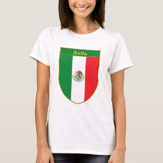 Avila Mexico Flag Shield T-Shirt