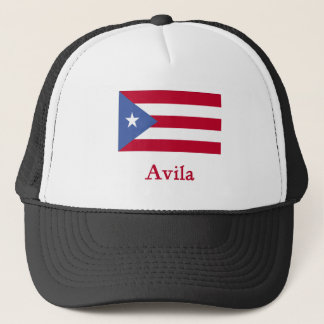 Avila Puerto Rican Flag Trucker Hat