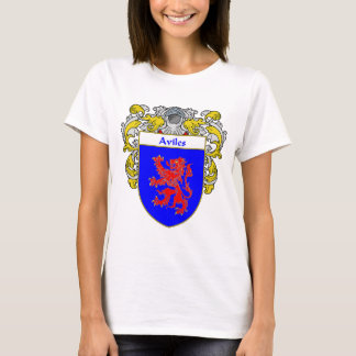 Aviles Coat of Arms/Family Crest: T-Shirt