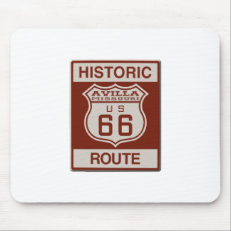 Avilla Route 66 Mouse Pad