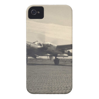 avión antiguo funda para iPhone 4