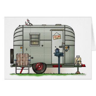 Avion Camper Trailer Card