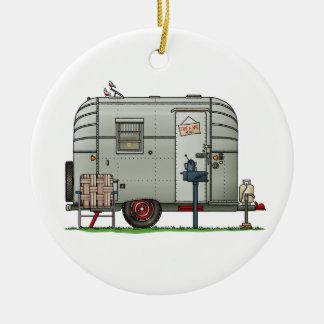 Avion Camper Trailer HSH Ceramic Ornament