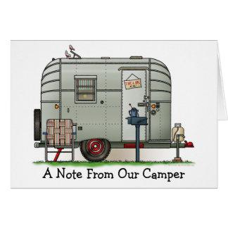 Avion Camper Trailer M Card