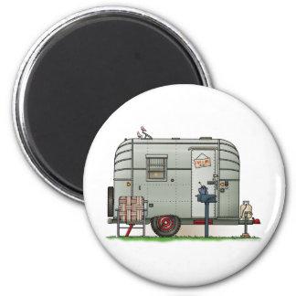 Avion Camper Trailer Magnet