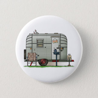 Avion Camper Trailer Pinback Button