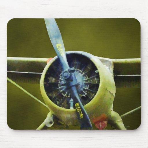 Avión - castor de DeHavilland U-6A Tapetes De Ratones