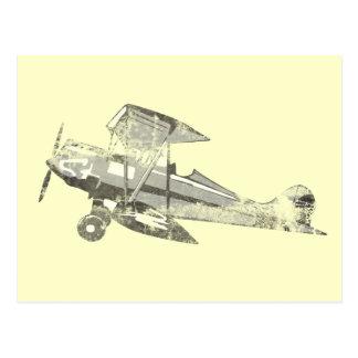 avión de aire del vintage postales