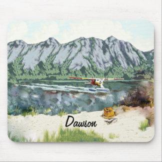 Avión de Alaska Bush y viaje de la pesca Alfombrilla De Ratón