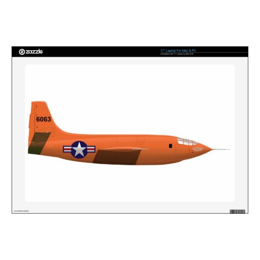 Avión de Bell X-1 Rocket Portátil 43,2cm Skin