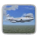 Avión de caza a reacción del meteorito de Gloster Manga De iPad
