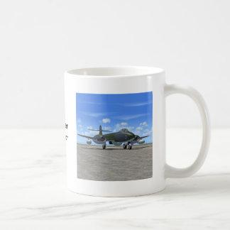 Avión de caza a reacción del meteorito de Gloster Taza De Café
