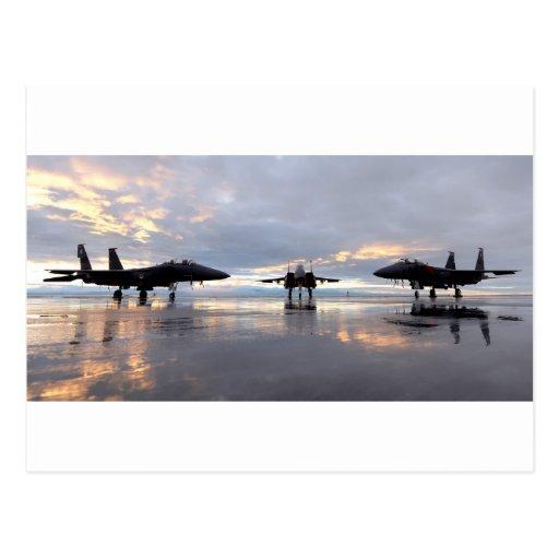 Avión de combate de F-15 Eagle Postal