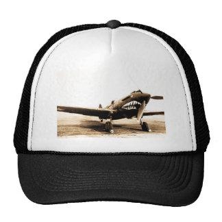 Avión de combate de WWII Flying Tigers Curtiss P-4 Gorro De Camionero