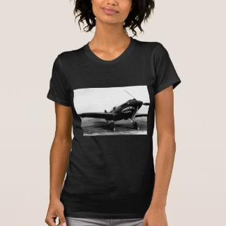Avión de combate de WWII Flying Tigers Curtiss Remeras