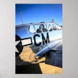 Avión de combate del mustango WWII de P51C Impresiones