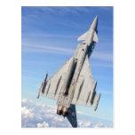 Avión de combate del tifón tarjetas postales