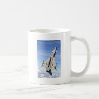 Avión de combate del tifón taza
