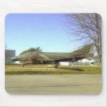 Avión de combate (F4-Phantom) Mousepad Tapetes De Ratones