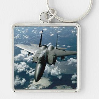 Avión de combate llaveros personalizados