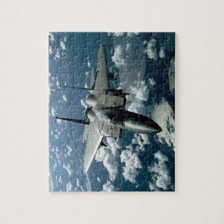 Avión de combate rompecabezas
