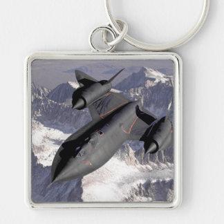 Avión de combate supersónico llavero