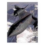 Avión de combate supersónico postal