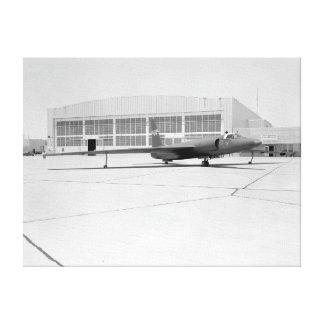 Avión de espía U-2 con las marcas ficticias de la  Impresiones En Lona