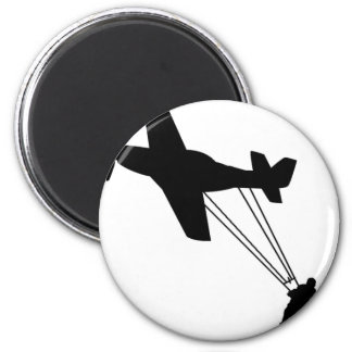 Avión de Kiteboard Imán Para Frigorífico