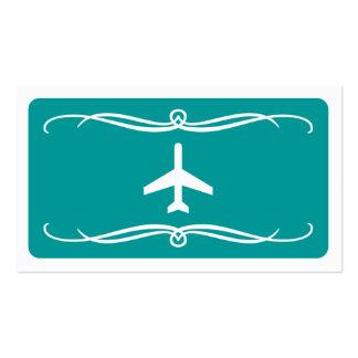 avión de la MOD (personalizable del color) Tarjetas De Visita