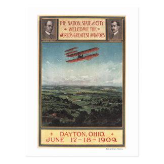 Avión de los hermanos de Wright Postal