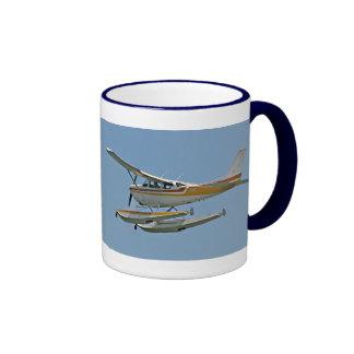 Avión de mar - hidroavión taza de dos colores