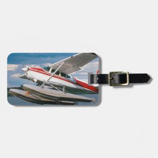 Avión de mar que saca, las cataratas Victoria, Etiquetas Maleta