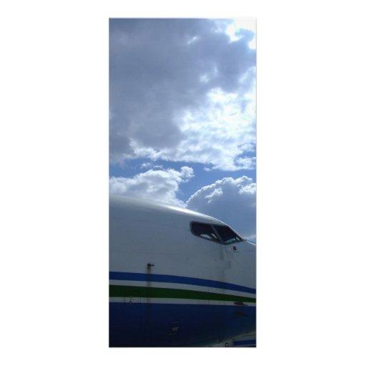 Avión de pasajeros-carlinga-con-nube-en-fondo lonas